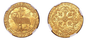 1350-64 1 Mouton d'Or NGC MS61