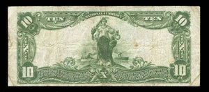 1902 $10 Note Morgan – Utah – CH 6958 – FR 624 – VF20