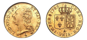 1785-A Louis XVI 1 Louis d'Or NGC MS61