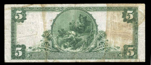 1902 $5 Note Salt Lake City – Utah – CH 9403 – FR 600 – F12