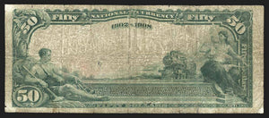 1902 $50 Note San Francisco – California – CH 9174 – FR 669 – F15
