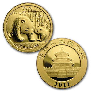 2011 China 6-Coin Gold Panda & Lunar Premium Rabbit Set