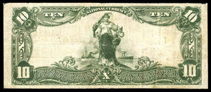 1902 $10 Note Philippi – West Virginia – CH 6302 – FR 624 – F12