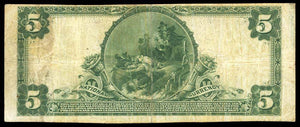 1902 - $5 Note - Winfield - Iowa - CH 10640 - FR 605 - F15