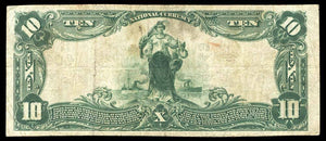1902 $10 Note Hagerstown – Maryland – CH 4049 – FR 626 – VF20