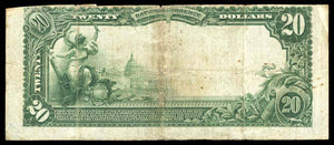 1902 $20 Note Eufaula – Alabama – CH 5024 – FR 658 – VF20