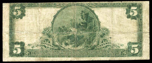 1902 $5 Note New Haven – Connecticut – CH 1243 – FR 606 – F12
