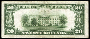 1929 - $20 Note - Washington - District of Columbia - CH 3425 - FR 1802-1 - VF20