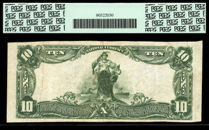 1902 $10 Note Brunson – South Carolina – CH 10832 – FR 632 – PCGS VF30