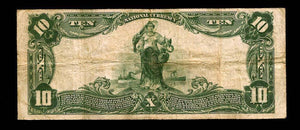 1902 $10 Note San Diego – California – CH 3050 – FR 624 – VF20