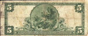 1902 - $5 Note - Atlantic City – New Jersey – CH 8800 – FR 600 – F12
