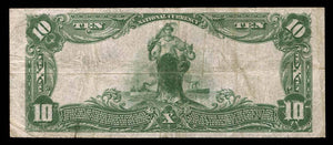 1902 $10 Note Salt Lake City – Utah – CH 9403 – FR 626 – VF20