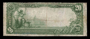 1902 $20 Note Murray – Utah – CH 6558 – FR 650 – VF20