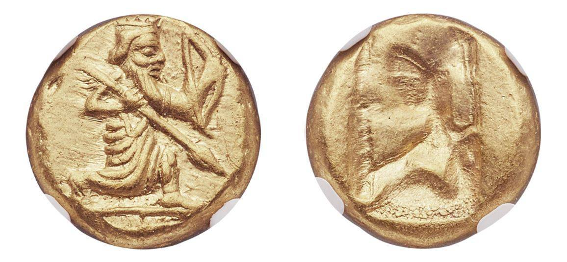 485-420 BC 5th-4th Century AV Daric  NGC MS ★ 5/5 - 5/5
