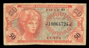 1965 $0.50 Note MPC Series 641 F12