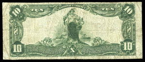 1902 $10 Note New Holland – Ohio – CH 7187 – FR 624 – F12