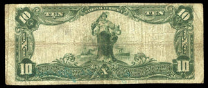 1902 $10 Note Port Royal – Pennsylvania – CH 11369 – FR 632 – F12