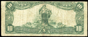 1902 $10 Note - Montclair – New Jersey – CH 12268 – FR 635 – F12
