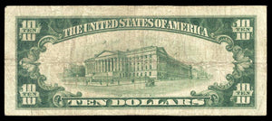 1929 $10 Note Madison – Illinois – CH 8457 – FR 1801-1 – F12