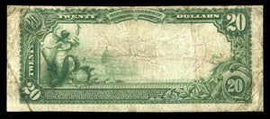 1902 $20 Note Belvidere – Illinois – CH 1097 – FR 650