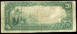 1902 – $20 Note – Mulberry Grove – Illinois – CH 7379 – FR 650 – F12