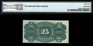 1863 $0.25 Note FR. 1307 Fourth Issue Fractional Currency PMG GU65 EPQ