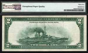 1918 - $2 Note - Federal Reserve Bank Note Philadelphia - FR 756 - PMG Choice VF35 EPQ