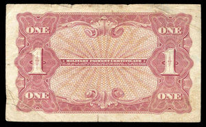 1965 $1 Note MPC Series 641 F/VF 15