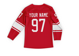 Authentic Custom How to Hockey Jersey