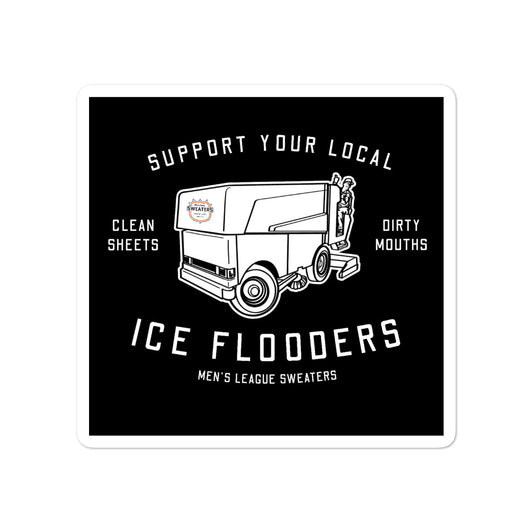 Ice Flooders Sticker