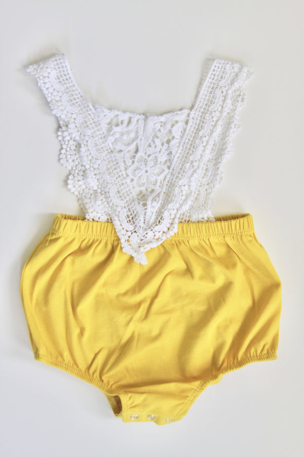 Yellow Rae Romper - FINAL SALE
