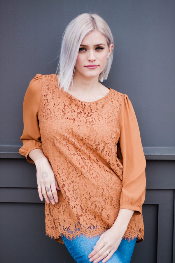 Toffee Top - FINAL SALE