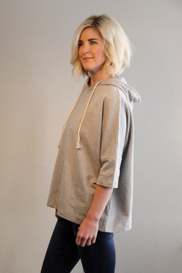 Grey Stone Hoodie - Final Sale