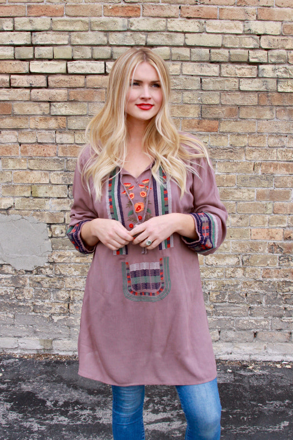 Hacienda Tunic - FINAL SALE