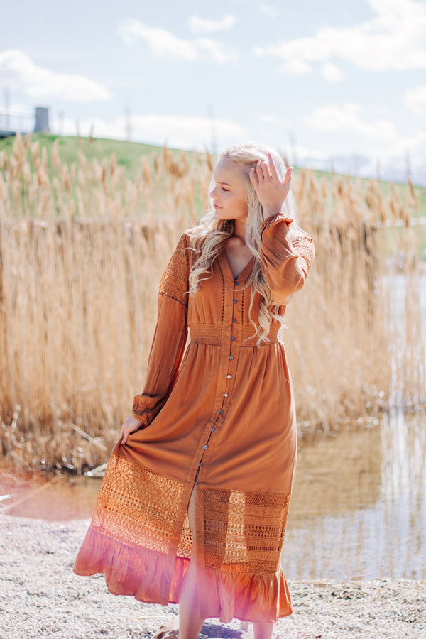 Golden Sunrise Dress - FINAL SALE
