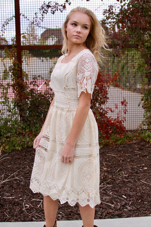 Lila Lace Dress - FINAL SALE