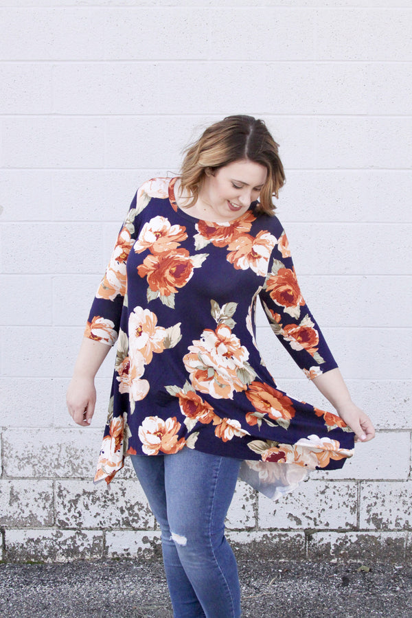 Contessa Top - Plus Size - FINAL SALE