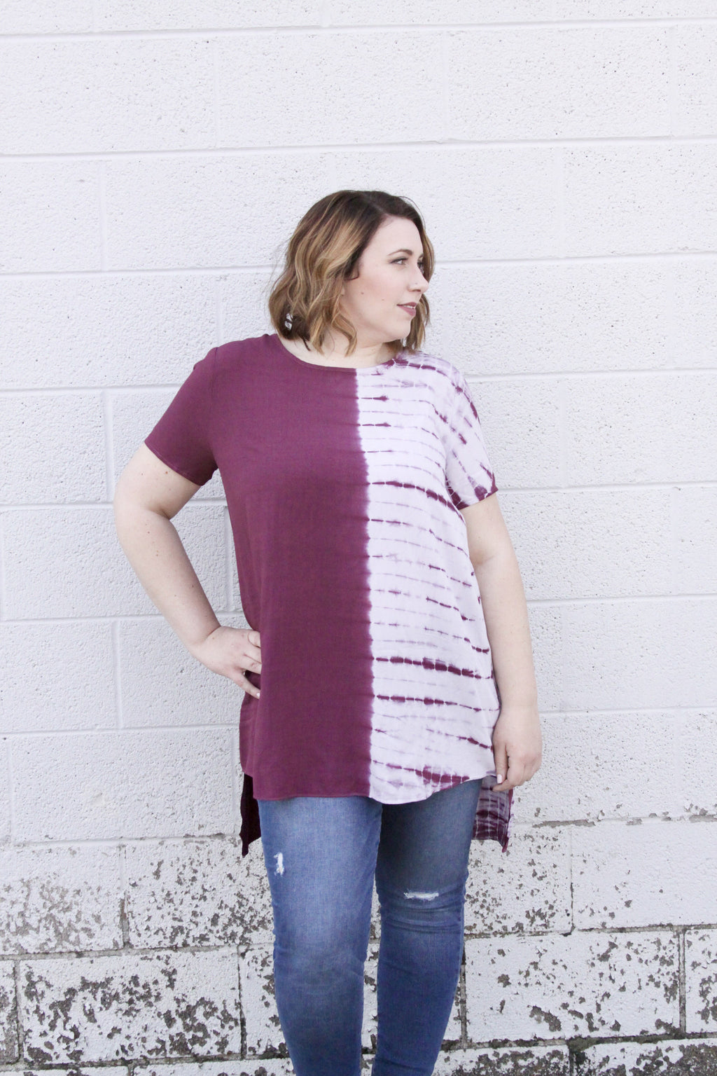 Young at Heart Top - Plus Size - FINAL SALE