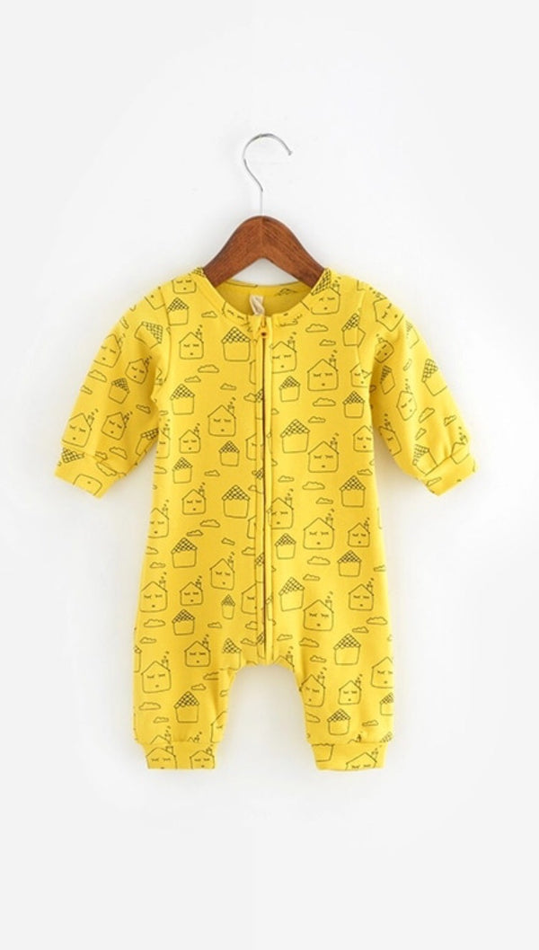 Lemon House Romper