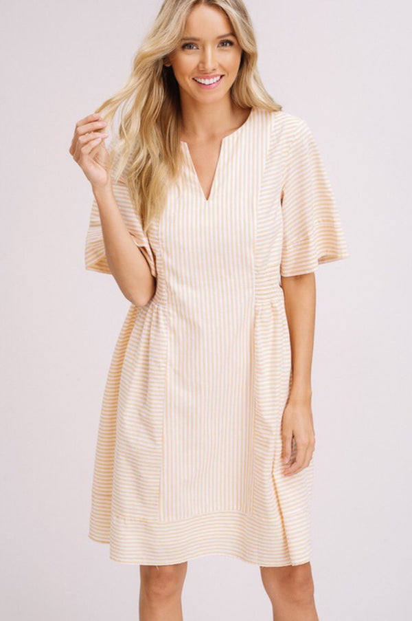 Macey Striped Dress