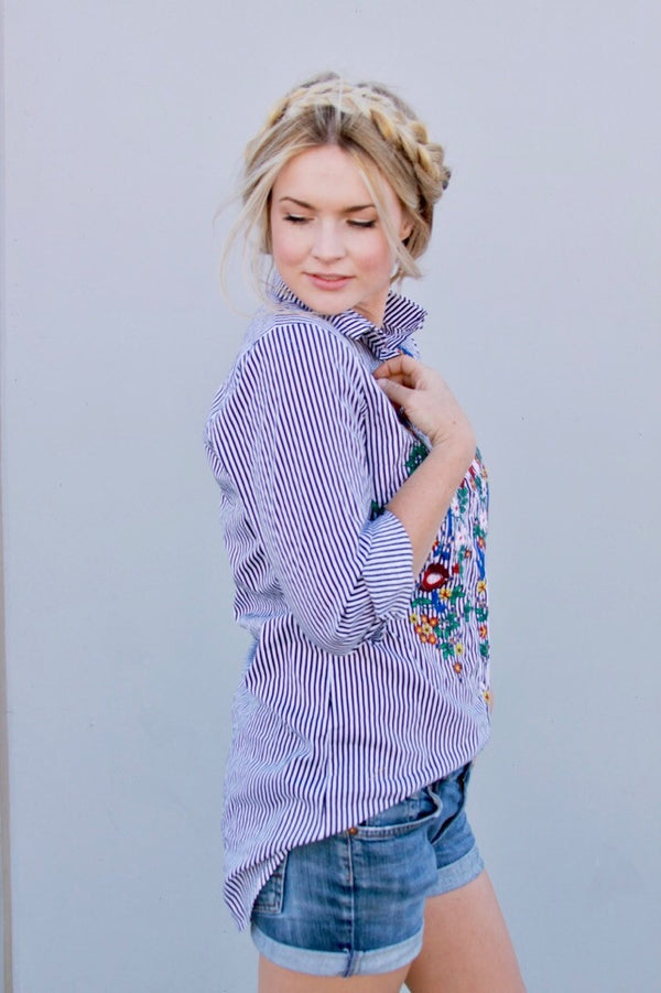 Stella Mae Button Up - FINAL SALE