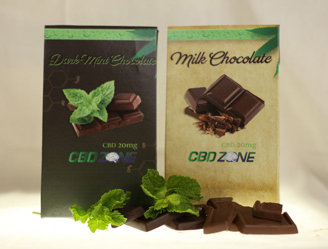 CBD Zone introduces new CBD Chocolate Mints – Dark and Milk Chocolate