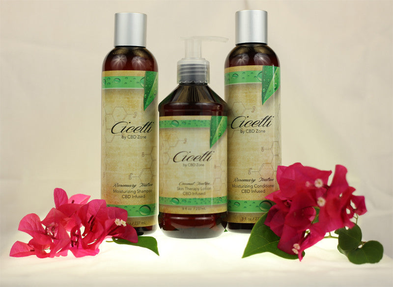 "New! ""Cicetti"" Bath & Body Products from CBD Zone"
