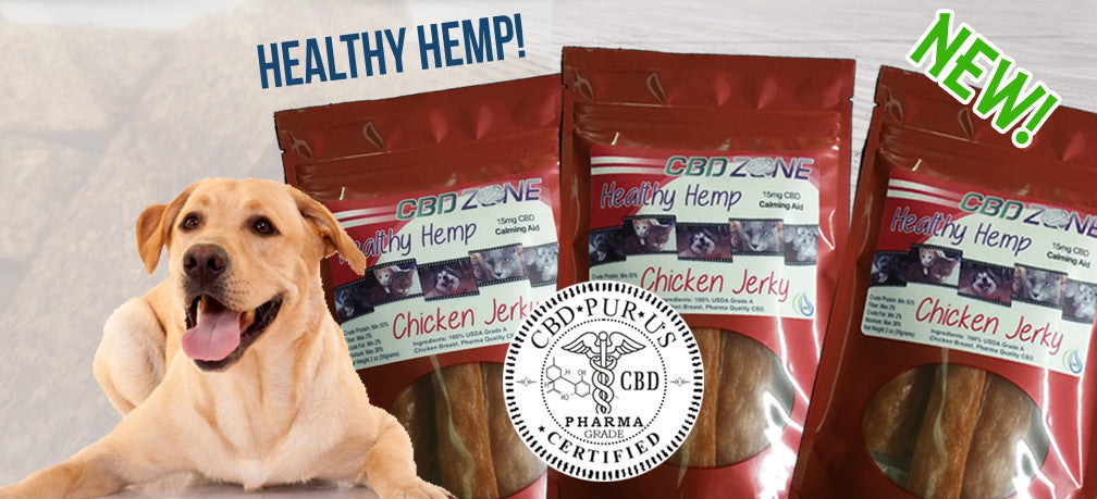 CBD Zone – Pharma Grade Pure CBD Products is not just for humans any more!