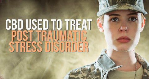 Cannabidiol (CBD) is showing amazing results for treating Post Traumatic Stress Disorder (PTSD)