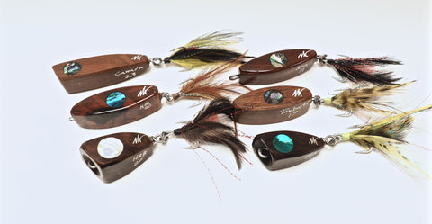 WOOD swimmers and poppers 16-23grams