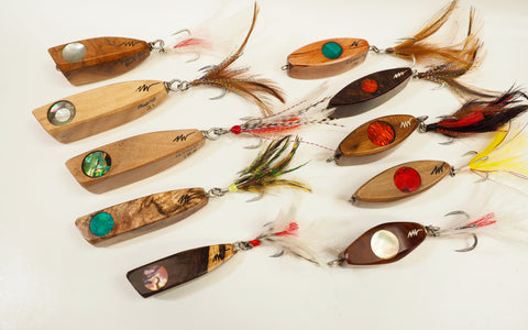 Light Tackle Wood Lures 13-22 grams