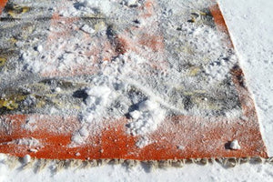 How to Clean Your Area Rugs With Snow