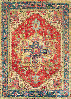 Serapi-P-10b-Rust-Navy-rug-shop-and-more