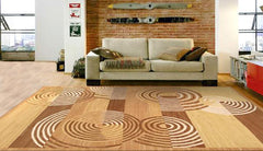Contemporary Flat Weave Wool Area Rugs